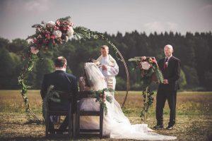 Svatební obřad foto Michal Vinecký