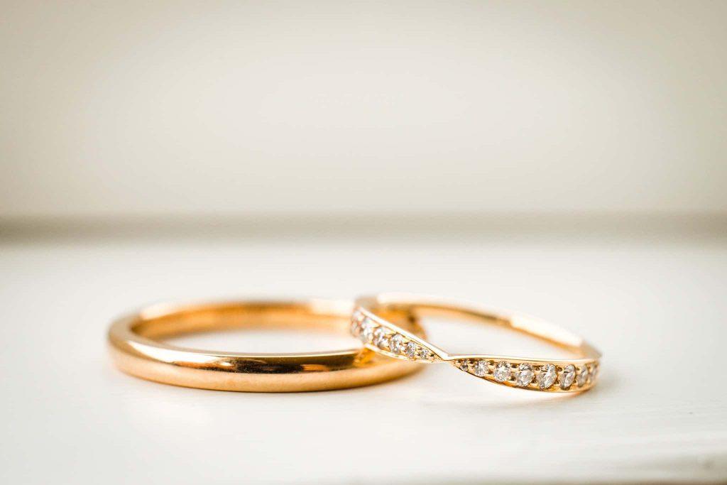 Svatební fotografie prstínků Michal Vinecký