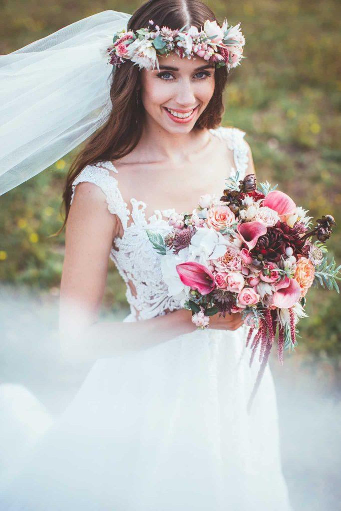 Nevěsta svatba Kutná hora foto Michal Vinecký