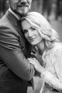 Manželé svatební foto