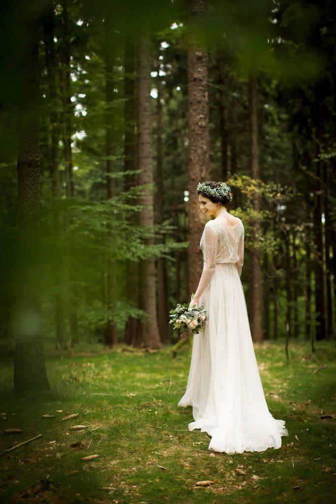 Nevěsta s kyticí Kolín foto