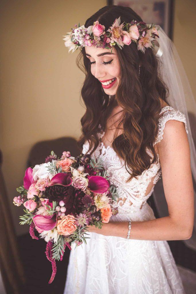 Kytice a nevěsta svatba Kutná Hora